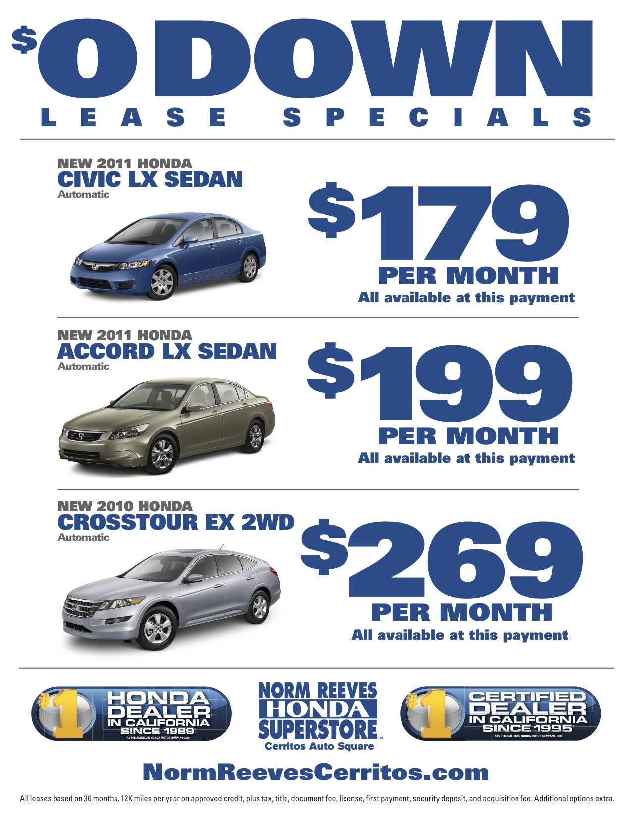 nj signing specials at honda or current paramus dch with due near lease